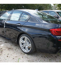 bmw 5 series 2013 black sedan 535i gasoline 6 cylinders rear wheel drive automatic 78729