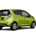 chevrolet spark 2013 lt  green hatchback 1lt auto gasoline 4 cylinders front wheel drive 4 speed automatic 56001