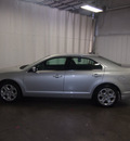 ford fusion 2010 silver sedan se gasoline 4 cylinders front wheel drive automatic 76108