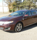 lincoln mks 2011 maroon sedan gasoline 6 cylinders front wheel drive automatic 55321