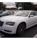 chrysler 300 2013 white sedan s gasoline 6 cylinders rear wheel drive 8 speed 07730