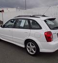mazda protege5 2002 white hatchback 4 cylinders automatic 99352