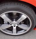 dodge charger 2009 orange sedan srt8 8 cylinders automatic 99352