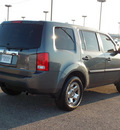 honda pilot 2011 dk  gray suv lx gasoline 6 cylinders front wheel drive automatic with overdrive 77074