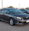 toyota corolla 2009 dk  gray sedan s gasoline 4 cylinders front wheel drive automatic with overdrive 77074
