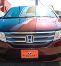 honda odyssey 2012 red van ex gasoline 6 cylinders front wheel drive automatic 79936