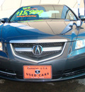 acura tl 2007 gray sedan gasoline 6 cylinders front wheel drive automatic 79936