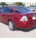 ford taurus 2008 dk  red sedan limited gasoline 6 cylinders front wheel drive automatic with overdrive 77074