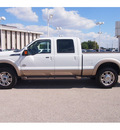 ford f 250 super duty 2012 white king ranch biodiesel 8 cylinders 4 wheel drive automatic 77074