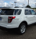 ford explorer 2013 white suv xlt flex fuel 6 cylinders 2 wheel drive automatic 78861