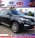 kia sorento 2013 black sx gasoline 6 cylinders front wheel drive automatic 78550