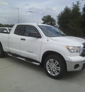 toyota tundra 2013 white grade gasoline 8 cylinders 2 wheel drive automatic 75569