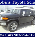 toyota fj cruiser 2013 black suv gasoline 6 cylinders 4 wheel drive automatic 75569