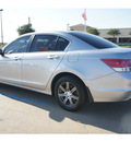 honda accord 2011 silver sedan lx gasoline 4 cylinders front wheel drive automatic 77034
