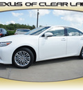 lexus es 350 2013 white sedan gasoline 6 cylinders front wheel drive automatic 77546