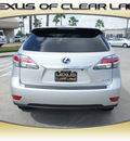 lexus rx 450h 2013 silver suv hybrid 6 cylinders front wheel drive automatic 77546
