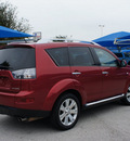 mitsubishi outlander 2009 red suv se gasoline 4 cylinders front wheel drive cont  variable trans  76234