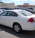 chevrolet impala 2008 white sedan ls 6 cylinders automatic 79925