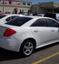 pontiac g6 2009 white sedan 6 cylinders automatic 79925