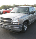 chevrolet silverado 1500 2003 silver pickup truck ls gasoline 8 cylinders rear wheel drive automatic 62863