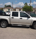 gmc canyon 2005 silver gasoline 5 cylinders rear wheel drive 4 speed automatic 77338