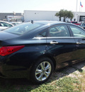 hyundai sonata 2013 dk  blue sedan limited gasoline 4 cylinders front wheel drive autostick 77065