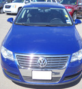 volkswagen passat 2008 blue sedan gasoline 4 cylinders front wheel drive automatic 79925