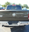 ram 1500 2012 dk  brown laramie gasoline 8 cylinders 4 wheel drive 6 speed automatic 75672