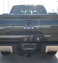 ford f 150 2012 black lariat gasoline 6 cylinders 4 wheel drive automatic 77521