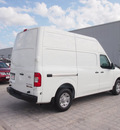 nissan nv cargo 2012 white van gasoline 8 cylinders rear wheel drive automatic 76116