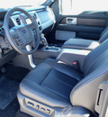 ford f 150 2013 gray lariat flex fuel 8 cylinders 4 wheel drive automatic 62708