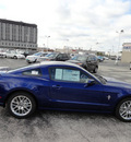 ford mustang 2013 blue coupe premium gasoline 6 cylinders rear wheel drive automatic with overdrive 60546