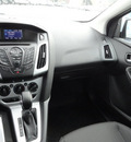 ford focus 2013 white hatchback se flex fuel 4 cylinders front wheel drive automatic with overdrive 60546