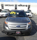 ford explorer 2013 gray suv xlt flex fuel 6 cylinders 2 wheel drive automatic with overdrive 60546