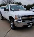 chevrolet silverado 2500hd 2012 white 8 cylinders automatic 75075