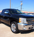 chevrolet silverado 1500 2012 black lt 8 cylinders automatic 75075