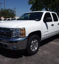 chevrolet silverado 1500 2013 white lt flex fuel v8 2 wheel drive automatic 75075