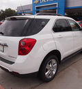 chevrolet equinox 2013 white lt gasoline 4 cylinders front wheel drive automatic 75075