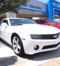 chevrolet camaro 2012 white lt 6 cylinders automatic 75075