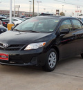 toyota corolla 2011 black sedan le gasoline 4 cylinders front wheel drive automatic with overdrive 77074