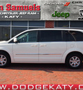 chrysler town and country 2012 white van touring flex fuel 6 cylinders front wheel drive autostick 77450