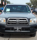 toyota tacoma 2010 silver gasoline 4 cylinders 2 wheel drive automatic with overdrive 77477