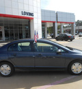 honda civic 2007 dk  gray sedan hybrid hybrid 4 cylinders front wheel drive automatic 75901