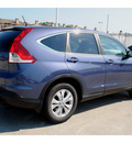 honda cr v 2012 blue suv ex 4 cylinders 5 speed automatic 77025