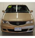 honda odyssey 2002 beige van ex 6 cylinders automatic 77025