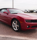 chevrolet camaro 2013 red lt gasoline 6 cylinders rear wheel drive automatic 78009
