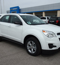 chevrolet equinox 2013 white ls gasoline 4 cylinders front wheel drive automatic 78009