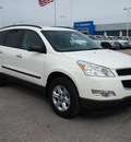 chevrolet traverse 2012 white ls gasoline 6 cylinders front wheel drive automatic 78009