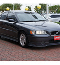 volvo s60 2005 gray sedan 2 5t gasoline 5 cylinders front wheel drive automatic 77450