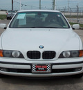 bmw 5 series 2000 white sedan 540i gasoline v8 rear wheel drive shiftable automatic 77469